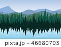 森林 林 森のイラスト 46680703