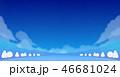 雪山 冬山 広場のイラスト 46681024