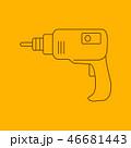 ドリル 器具 道具のイラスト 46681443