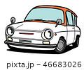 ベクター 車 レトロのイラスト 46683026