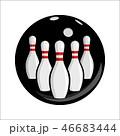 Bowling team or club emblem 46683444