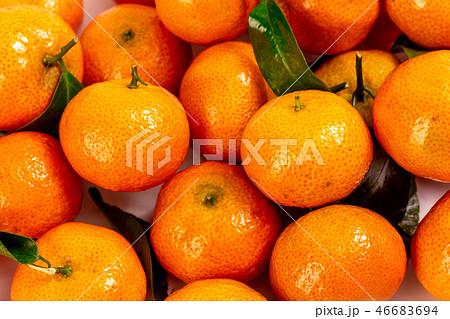 オレンジ色 オレンジ 橙 46683694