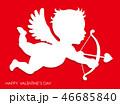 キューピッド 天使 バレンタインのイラスト 46685840