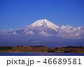 富士山 田貫湖 青空の写真 46689581