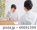 女性 頭痛 問診の写真 46691399