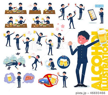 flat type school boy gakuran_alcohol 46693466