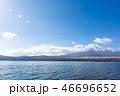 富士山 山中湖 湖の写真 46696652