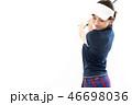 ゴルフ ゴルファー 女性の写真 46698036