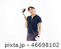 ゴルフ ゴルファー 女性の写真 46698102