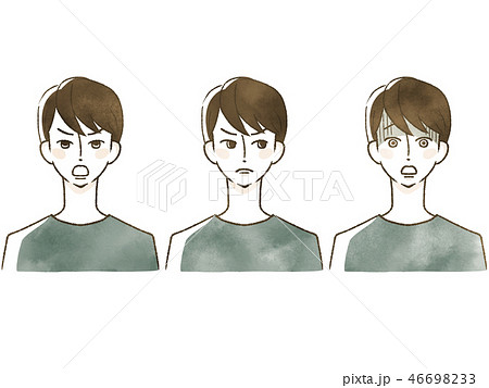 男性-表情 46698233