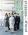 ビジネスチーム 同僚 ビジネスマンの写真 46698316