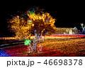 冬 風景 夜の写真 46698378