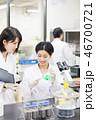 研究室 女性 研究の写真 46700721