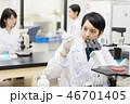研究室 人物 女性の写真 46701405
