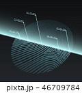 Fingerprint Imprint Technology Concept. 46709784