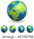 World Globe 3D Signs Set 46709798