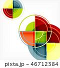 抽象的 背景 円のイラスト 46712384