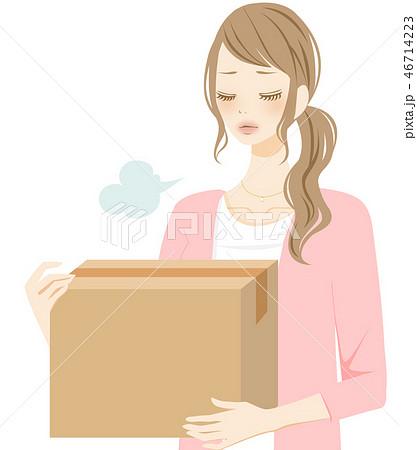 ため息をつく女性 ネガティブ 引っ越し 46714223
