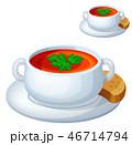 食 料理 食べ物のイラスト 46714794