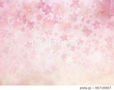 桜(背景素材) 46716907