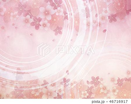 桜(背景素材) 46716917