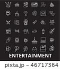 ベクタ ベクター ベクトルのイラスト 46717364