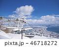 函館 冬 函館山の写真 46718272