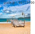 浜辺 景色 風景の写真 46723500