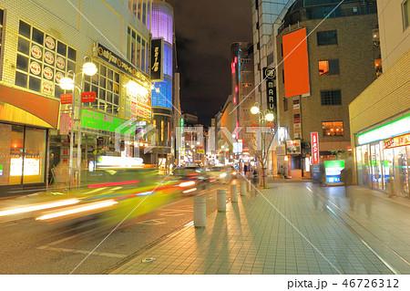 中洲中央通り 福岡県福岡市博多区、歓楽街中洲の中央を横断する道路 46726312