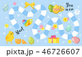 Easter board game template 46726607