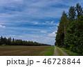 風景 十勝 秋の写真 46728844