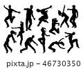 ダンス 舞う 踊りのイラスト 46730350