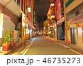都会 都市 路地の写真 46735273