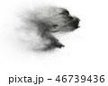 テクスチャ テクスチャー 黒色の写真 46739436