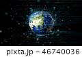 グローバル 地球 通信のイラスト 46740036
