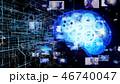 AI 人工知能 ディープラーニングのイラスト 46740047