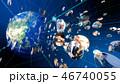 ソーシャルネットワーク ネットワーク オンラインのイラスト 46740055