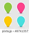 Colorful Empty Paper Vector Labels 46741357