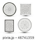 Cut Wood Vector Illustration 46741359