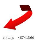 Red Arrow Vector Icon 46741360