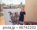 画伯 芸術家 アーティストの写真 46742202