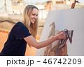 画伯 芸術家 アーティストの写真 46742209