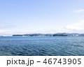 海 風景 小和田湾の写真 46743905