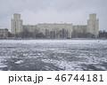 街角 雪景色 46744181