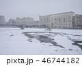 街角 雪景色 46744182