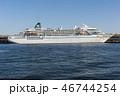 横浜港大さん橋に停泊するアマデア 46744254