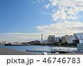 横浜 マリンタワー 青空の写真 46746783