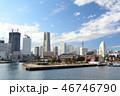 横浜 みなとみらい 赤レンガ倉庫の写真 46746790
