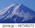 富士山 富士 冠雪の写真 46748273