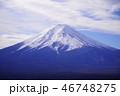 富士山 富士 冠雪の写真 46748275